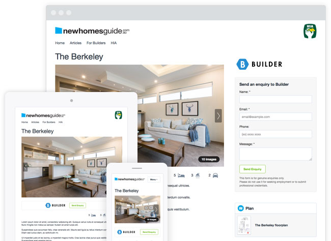 Sample demo image of our Home Design page.
